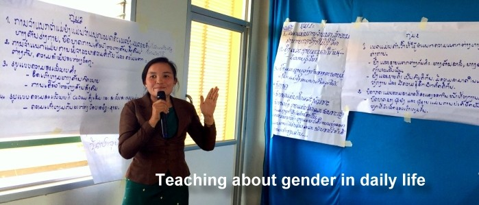 Teaching about gender issues